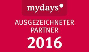 Offizieller Partner von Mydays